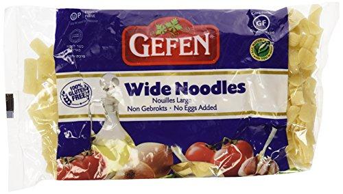 Gefen Noodles Wide Noodles Gluten Free -- 9 oz Each / Pack of 2 (Round Pasta Noodles compare prices)