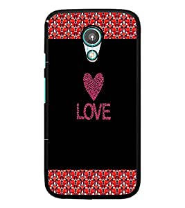 PrintDhaba Quote D-2673 Back Case Cover for MOTOROLA MOTO G2 (Multi-Coloured)