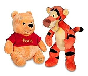 "Winnie the Pooh and Tigger Plush 14"" Medium Combo Set"