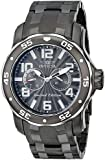 """Invicta Men's 18037SYB """"Pro Diver"""" Gunmetal Ion-Plated Stainless Steel Watch"""