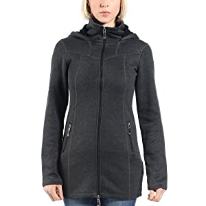 Bench Damen Strickjacke Bradiestar, Black Marl, XS, BLFA1182