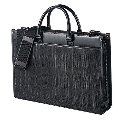 サンワダイレクト ビジネスバッグ 2WAY 手提げ ショルダー 通勤 対応 15.6型ノートパソコン A4サイズ対応 PCバッグ 200-BAG067