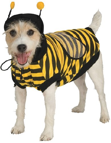 Pet Bumble Bee Dog Costume For Large Dogs