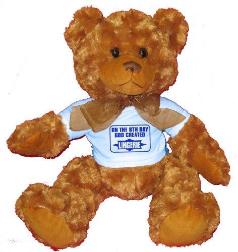 ON THE 8TH DAY GOD CREATED LINGERIE Plush Teddy