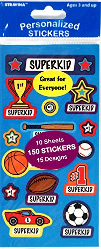 Personalized Stickers For Kids front-1021534