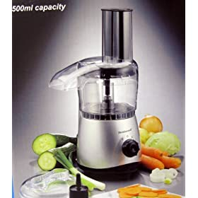 Brentwood FP-525 500ml Capacity Food Processor SILVER