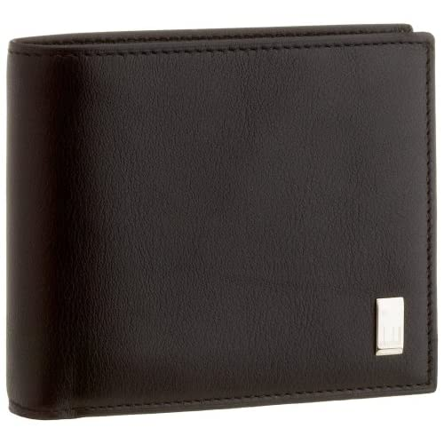 [ダンヒル] SIDECAR BLACK 二つ折り財布 QD3070 ブラック