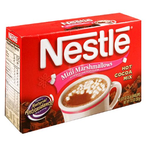 Buy Nestle Hot Cocoa Mix, Mini Marshmallows, 10-Count, 0.71-Ounce Envelopes (Pack of 12) (Nestle, Health & Personal Care, Products, Food & Snacks, Beverages, Hot Cocoa)