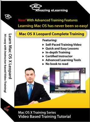 Apple Mac OS X Leopard Complete Training Course (2-DVD set)