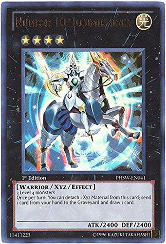 YuGiOh-Zexal-Photon-Shockwave-Single-Card-Number-10-Illumiknight-PHSW-EN041-Ultra-Rare