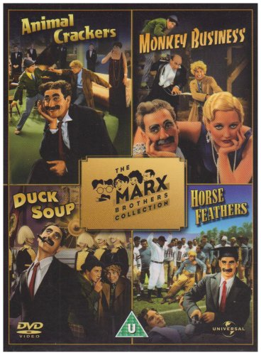 The Marx Brothers Collection Animal Crackers, Monkey Business, Duck Soup, Horse Feathers (Duck Soup Marx Brothers compare prices)