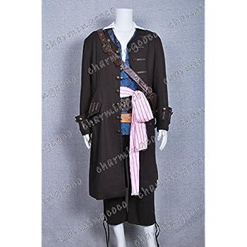 Rubies Fancy Dress Costume Caribbean Pirate Mens Sizes L /& XL