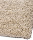 51kk13hSH7L. SL160  Safavieh Shag Collection Classic Handmade Ivory Shag Area Rug, 6 Feet by 9 Feet