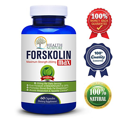 THE BEST FORSKOLIN MAX STRENGTH** Pure Forskolin 250 mg standardized