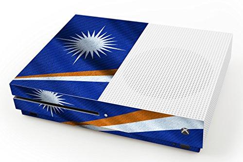 pelle-di-disegno-microsoft-xbox-one-s-bandiera-di-isole-marshall-design-skin