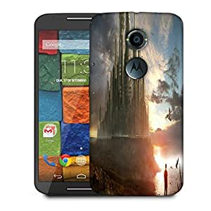 Snoogg Fantasy Future City Designer Protective Phone Back Case Cover For Moto X 2nd Generation