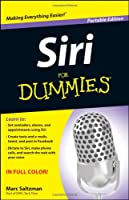 Siri For Dummies Front Cover