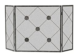 Panacea Products 15931 3-Panel Medallion Fireplace Screen from Panacea Products