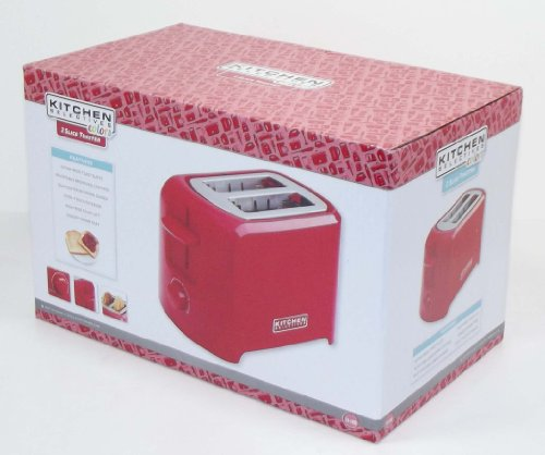 Kitchen Selectives: Kitchen Selectives Cool-Touch 2 Slice Toaster (Red) New