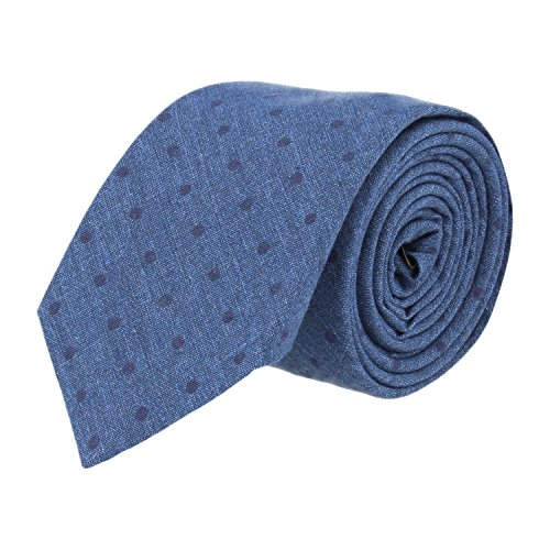OTTO KERN stretto cravatta Jeans Blue OTTO KERN