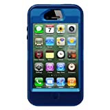 Otterbox Defender Series Hybrid Case & Holster for iPhone 4S  - Retail Packaging - Ocean/Night Blue