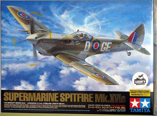 Tamiya 60321 1/32 Supermarine Spitfire Mk.XVIe