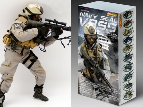VERYHOT 1/6 アクションフィギュア 装備品セット NAVY SEAL VBSS PCU