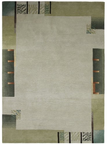 """Nepal Carpet Hand-Knotted """"Brand Luxor Living"""" Gentle """"9 Sizes Availlable"""" 3Ft9""""X5Ft9"""""""