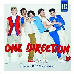 Official One Direction 2013 Mini Calendar: 9781780541556