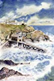 Lizard Old Lifeboat House, Cornwall art print from watercolour painting by Alex Pointer