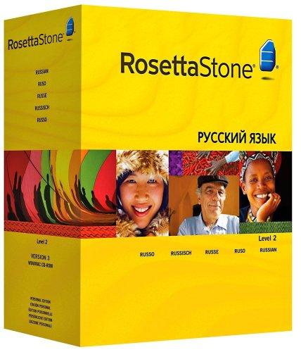 ROSETTA STONE VERSION 3: RUSSE NIVEAU 2 AVEC AUDIO COMPANION