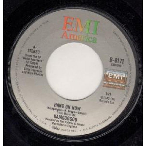 Hang On Now - B8-8171 EMI America single
