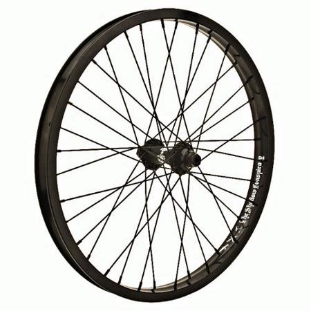 The Shadow Conspiracy Stun Front BMX Bike Wheel – Black Rim