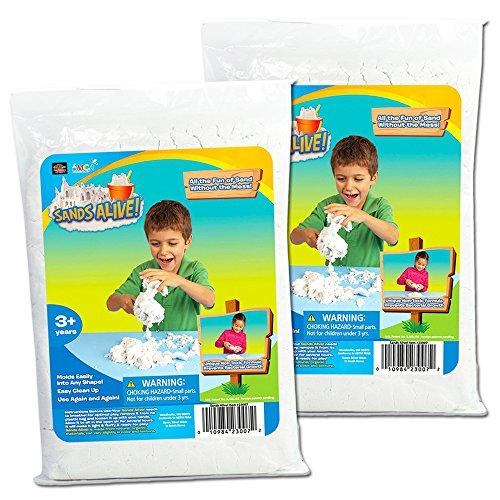 Sands Alive Kinetic Sand Starter Kit -- 1.5 Lbs of No Mess Sand for Kids Toddlers (Natural) (Sands Alive Starter compare prices)