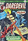 img - for Daredevil - The Man Without Fear (Vol. 1 No. 128, December 1975) (Death Stalks The Stairway To The Stars!) book / textbook / text book