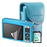 Fujifilm FinePix Z70 Blue Accessory Kit (Case, 2GB SD Media Card, Screen Protector)