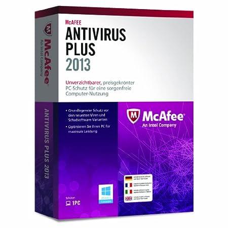 McAfee AntiVirus Plus 2013 - 1 User