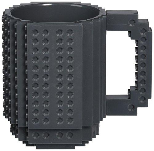 Build-On Brick Mug - BPA-free 12oz Coffee Mug