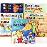 Llama Lama 5-Book Pack: Llama Llama Red Pajama, Llama Llama Time to Share, Llama Llama Misses Mama, Llama Llama Mad at Mama, Llama Llama Home with Mama