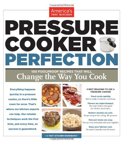 Pressure Cooker Perfection Recipe Book