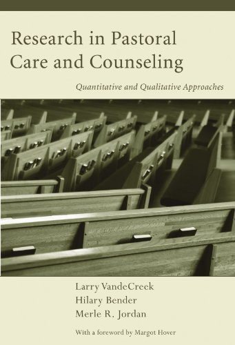 Research in Pastoral Care and Counseling: Quantitative...