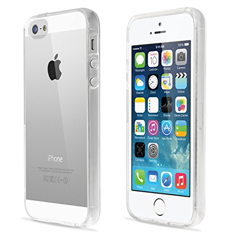 Coque iPhone 5/5S, Coque Transparente iPhone 5s, Coque case pour iPhone 5 Ultra Fit Bestwe