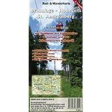 Braunlage - Hohegeiß - Sant Andreasberg: Rad- und Wanderkarte im Maßstab 1:25 000