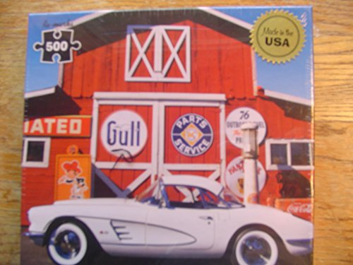 Classic Car 500 Piece Puzzle Corvette by Re-Marks