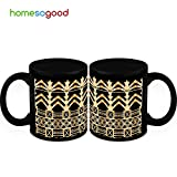 HomeSoGood Strong Modern Structure Coffee Mugs (2 Mugs)