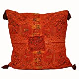 Laura Luna Textiles LL16-98 Clochi Pillow, 30-Inch by 30-Inch