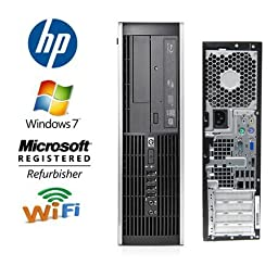 HP Elite 8000 Desktop - Core 2 Quad 2.4GHz 8MB Cache - *NEW* 1TB 7200RPM HDD - 8GB RAM - WIFI - DUAL Video Output - DVD/CD-RW - Windows 7 Pro 64-Bit Operating System (Featuring an iCompNY USB Keyboard and Mouse)