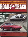 ROAD & TRACK Subary DL BMW 733i Jaguar XJ12L Mercedes-Benz 450SEL tests 5 1978