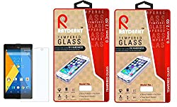 Raydenhy Pack of 2 (2 PCS) 2.5D Curved Edges 0.33MM Thickness Tempered Glass For Micromax YU Yuphoria