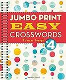 img - for Jumbo Print Easy Crosswords #4 (Large Print Crosswords) book / textbook / text book